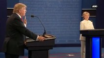 US Presidential Debate -  Hillary Clinton Calls Donald Trump Vladimir Putin's Puppet