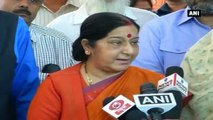 EAM Swaraj Assures Safe Return Of Indian Nationals Captive In Iraq