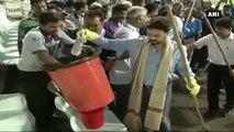 WATCH -  Anurag Thakur, Virat Kohli Undertake 'Swachh Bharat Campaign'