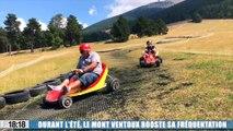 Le Mont Ventoux offre un grand bol d'air frais en pleine canicule