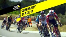 Summary - Stage 17 - Tour de France 2019