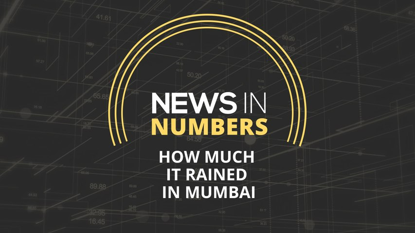 How bad rains have been in Mumbai this year: News in Numbers