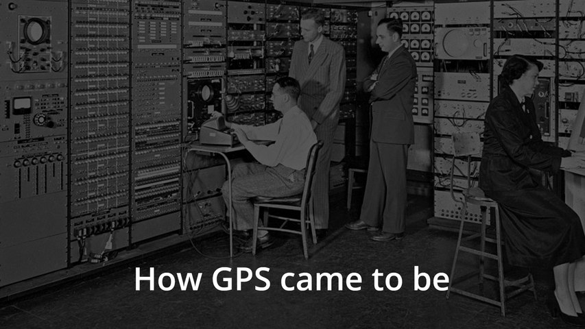 Origin stories: Where the Global Positioning System or GPS came from
