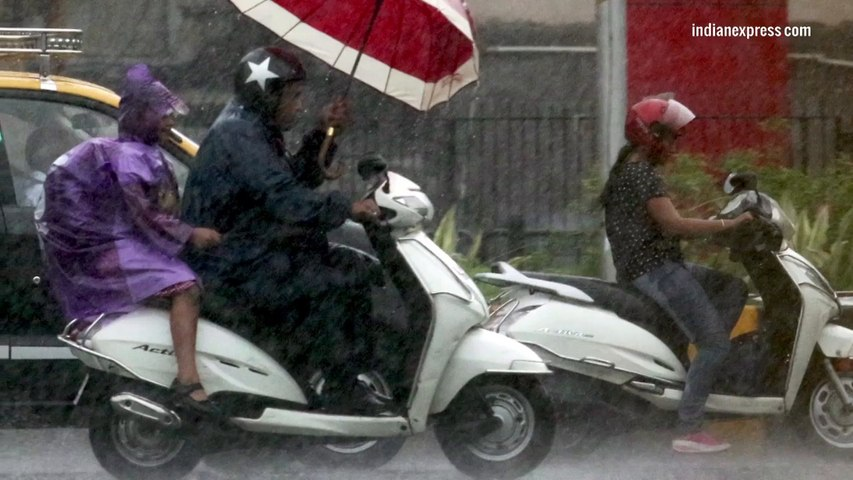 Hear the Mumbai monsoon