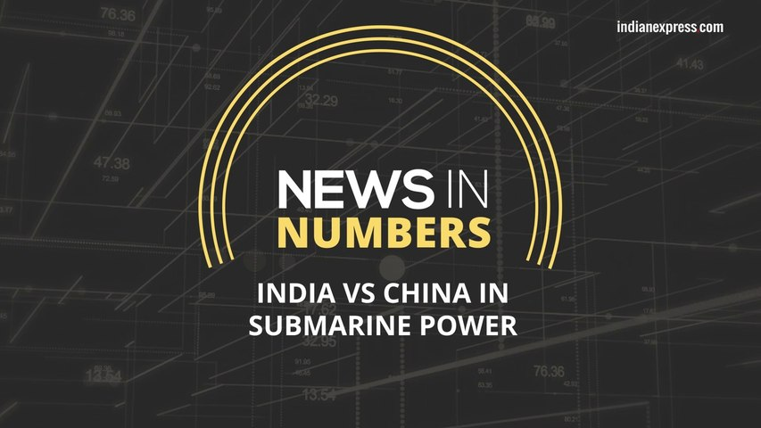 Can India match China's submarine power: News in Numbers