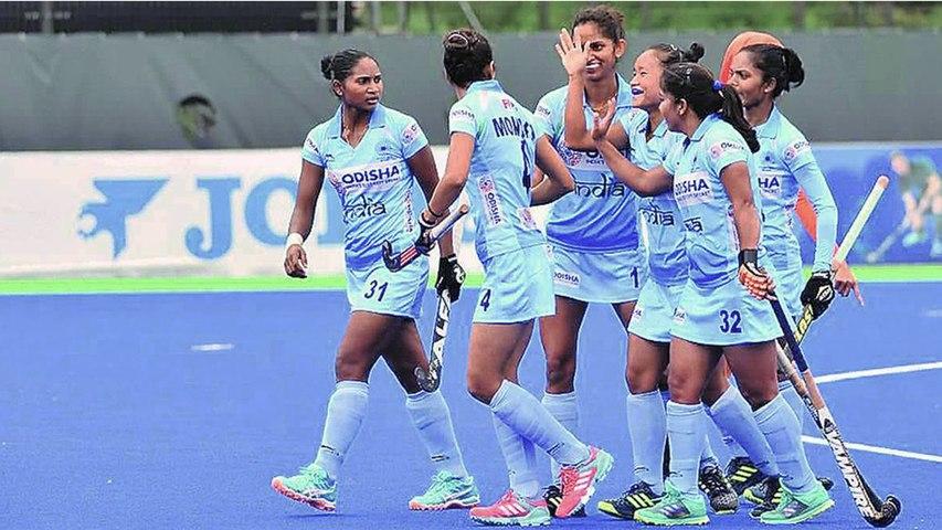Women's Hockey World Cup Indian Team