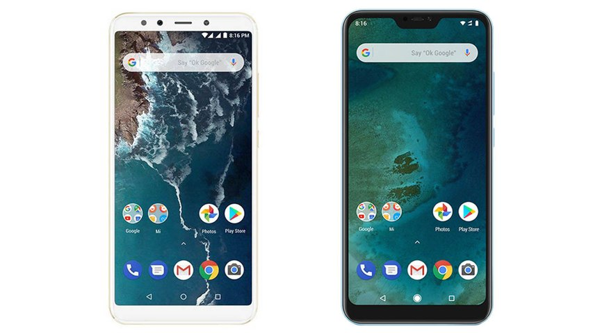 Xiaomi Mi A2, Mi A2 Lite Android One phones launched in Spain