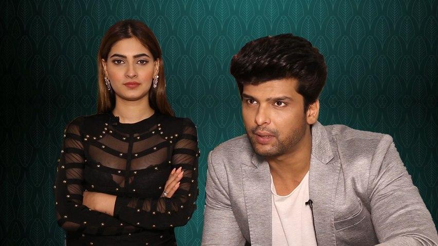 Kushal Tandon and Karishma Sharma take the 'Hum' challenge