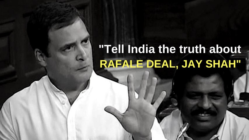 HIGHLIGHTS: When Rahul Gandhi defined jhumla, talked about Jay Shah, Rafale deal and more