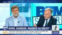 Boris Jhonson: priorité au Brexit !