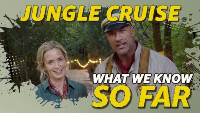 What We Know About 'Jungle Cruise' ... So Far (Emily Blunt, Dwayne Johnson)
