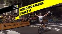 Onboard camera - Étape 17 / Stage 17 - Tour de France 2019