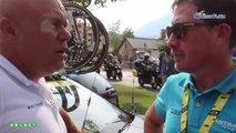 Tour de France 2019 - Emmanuel Hubert (Arkéa-Samsic) - Dmitriy Fofonov (Astana) : leur podium à Paris !