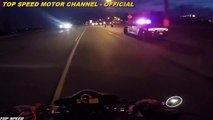 Cops Vs Bikers , police vs motorcycles, police chase motorcycle TOP SPEED ON STREET NEW !!
