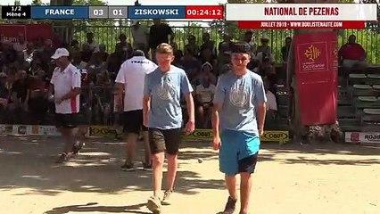National de Pézenas 2019, le jubilé ! Demi-finale FRANCE vs ZISKOWSKI
