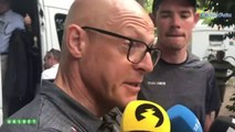 """Tour de France 2019 - Dave Brailsford and Luke Rowe after his expulsion from the Tour with Tony Martin : """"It's a very tough penalty"""""""