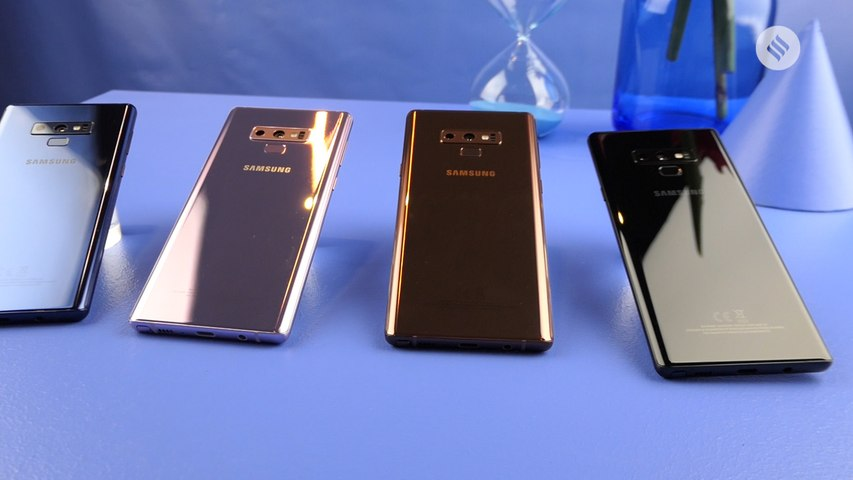 Samsung Galaxy Note 9 launched: S Pen, battery are the big changes