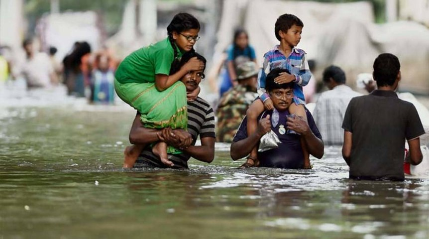 Kerala paralysed by floods