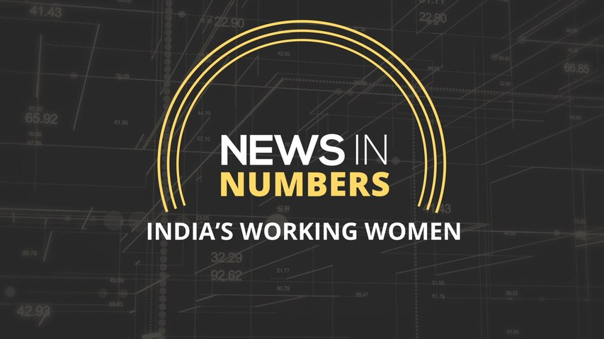 There has been a significant dip in the population of India's working women: News in Numbers