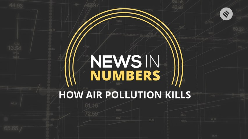Air pollution is reducing life expectancy by a year: News in Numbers
