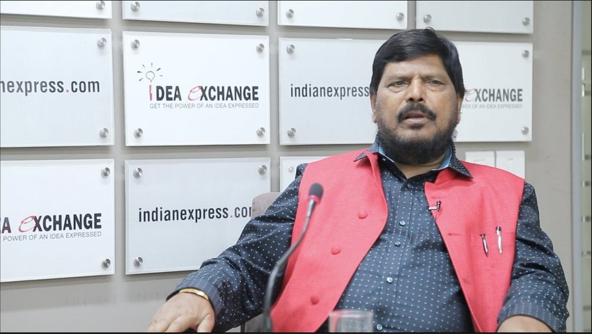 Idea Exchange With Ramdas Athawale