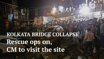 Kolkata bridge collapse: Rescue operations continue at the site, Mamata Banerjee to visit at 2 pm
