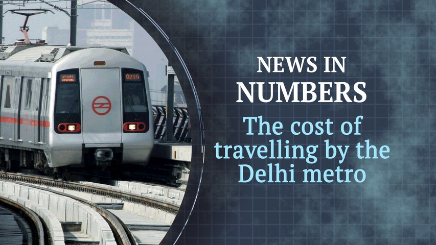 Delhi metro is the second most unaffordable transport network in the world: News in Numbers