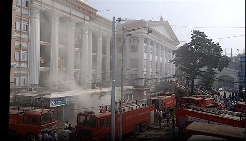 Kolkata medical college fire under control