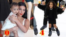 Kim Kardashian's Daughters - North West From 0 to 4 Years Old
