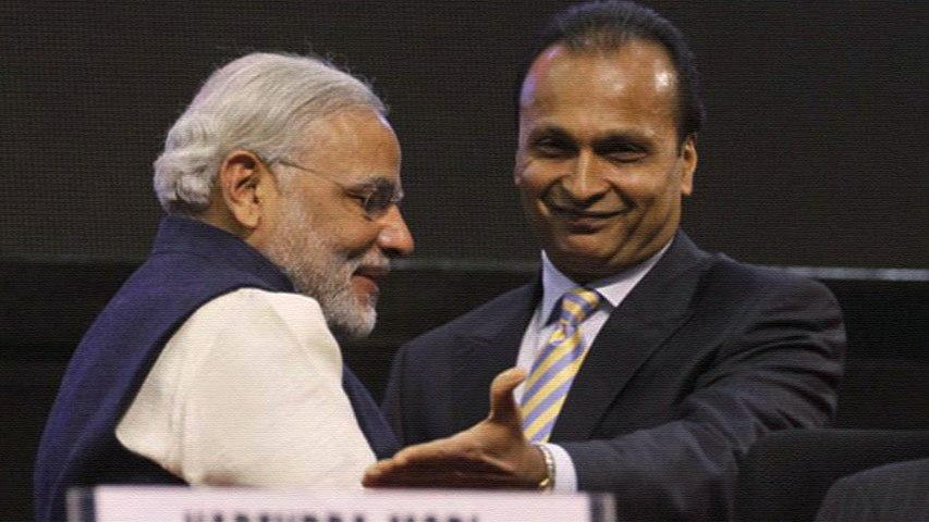 Rafale deal couldn't take place without Reliance, says report
