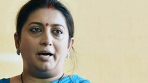 Will you take sanitary napkins soaked in blood to a friend's home: Smriti Irani on Sabarimala row