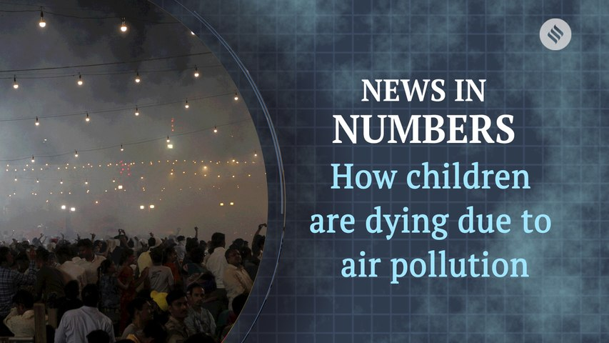 How pollution killed over 1 lakh children in 2016: News in Numbers