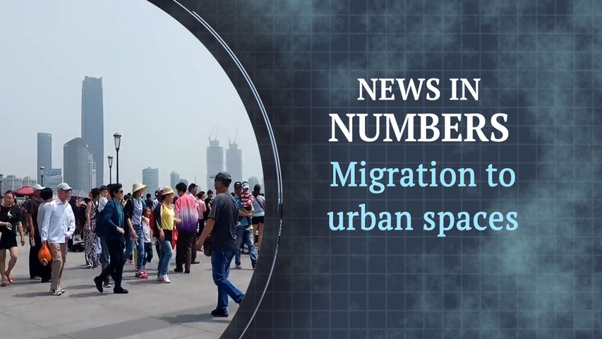 How urban population is rising globally: News in Numbers