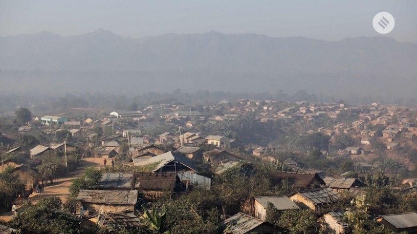 Life inside the camp of Bru refugees in Tripura
