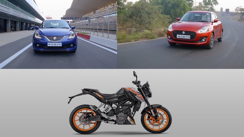 Weekly Auto Wrap | KTM 125 Duke | Maruti Swift, Baleno sales & more