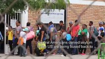 Migrants rejected by the United States await in Mexico to go back home