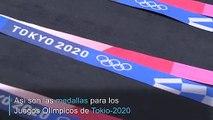 Medallas ecológicas para Tokio-2020