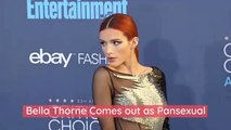 Bella Thorne Comes out as Pansexual