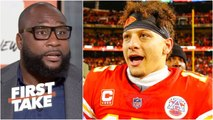 The Patriots won't stand in the Chiefs' way to the Super Bowl - Marcus Spears - First Take