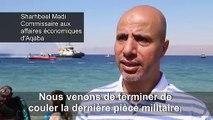 Jordanie: un musée militaire sous-marin en mer Rouge