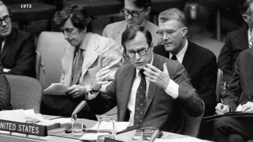 George HW Bush: A life in public service