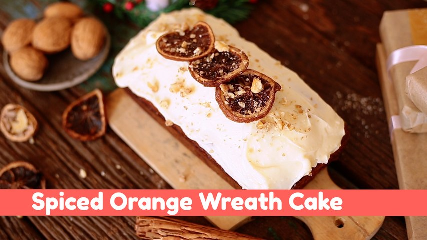 Christmas Cake Recipe: Spiced Orange Wreath Cake