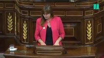 """Laura Borràs dice que Sánchez es un """"político preso por su prepotencia"""""""