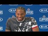 Kawhi Leonard - Paul George Clippers Introduction-