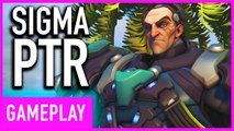 Overwatch - Sigma PTR All New Tank Hero Gameplay Highlights