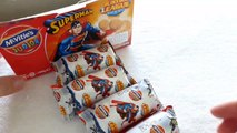 SUPERMAN - Chocolate Flavoured Sandwich Biscuits