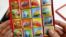 Disney  Cars Chocolate Memory Puzzle Playset