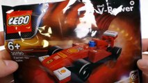 LEGO Model Shell F1 Ferrari Race Car
