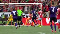 Caio's goal in 93rd minute leads Benfica past Fiorentina 2-1