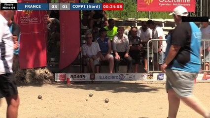 National de Pézenas 2019, le jubilé ! Finale FRANCE (Dream Team) vs COPPI (Gard)